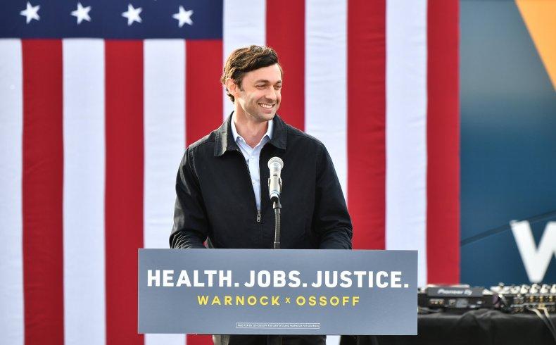 Jon Ossoff candidate for the Georgia State Senate election