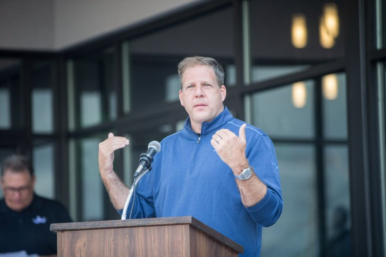 New Hampshire Governor Christopher Sununu