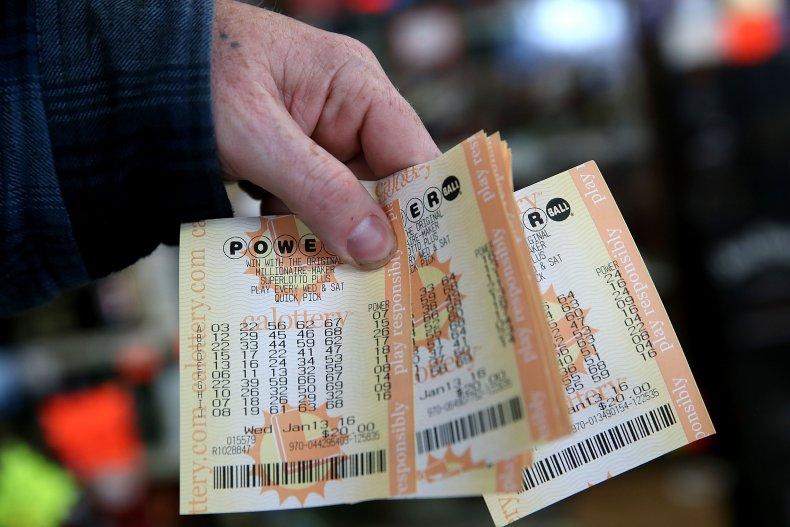 Powerball lottery tickets 2016 California