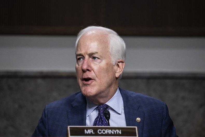 John Cornyn at a Senate Judiciary Subcommittee
