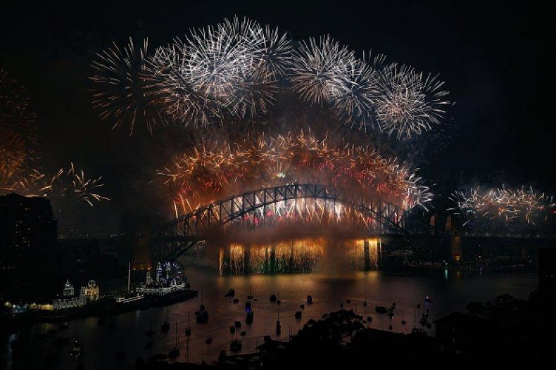 Australians Celebrate New Year's Eve 2020 SYDNEY,