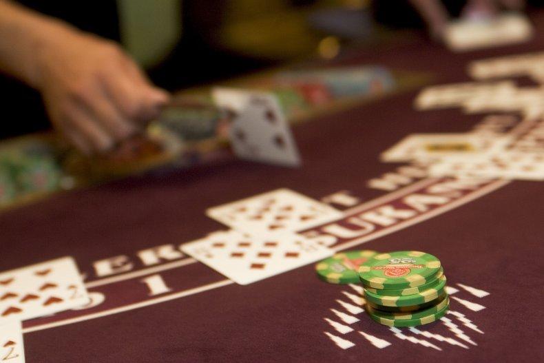 Blackjack at the Thunder Valley Casino
