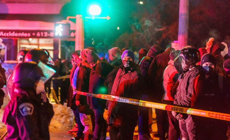 Minneapolis Police Department, Police Shooting, Protest