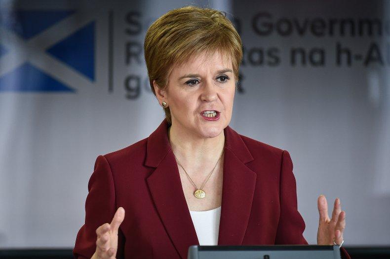 Nicola Sturgeon Scotland European Union Brexit Twitter