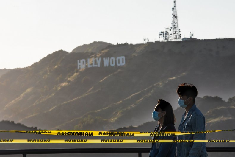Hollywood Television Filming Pauses Amid COVID-19 Surge