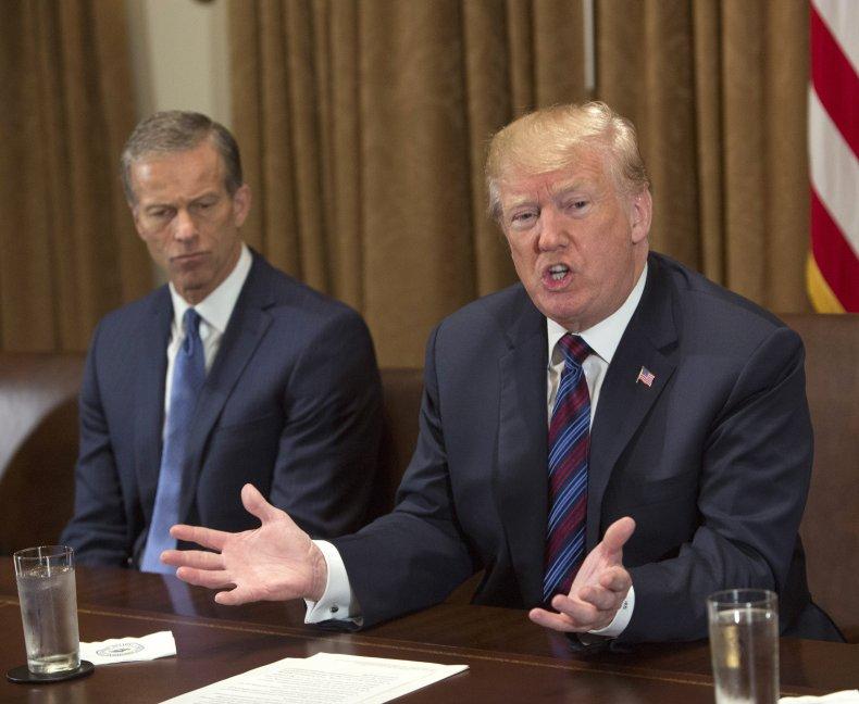 Thune and Trump