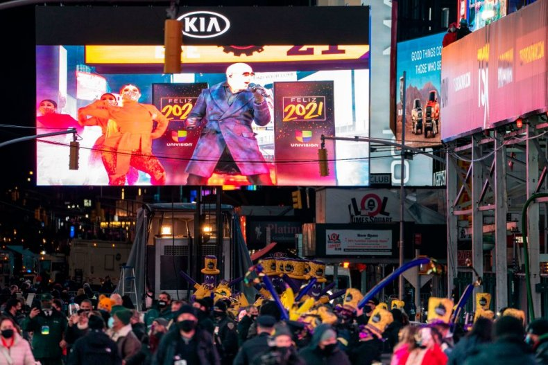 Times Square NYE event