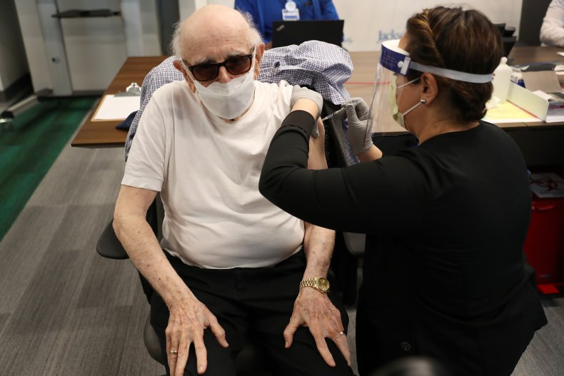 Dr. Norman G. Einspruch, 88, Is Vaccinated