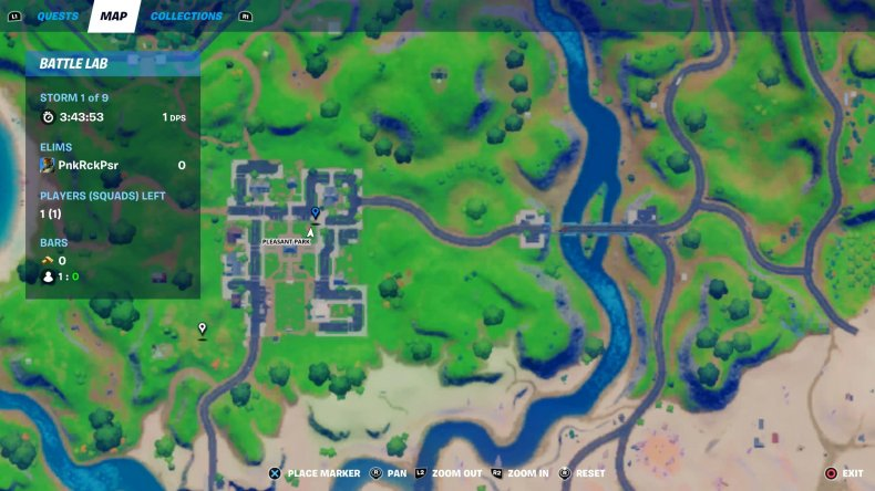 fortnite gnome dig 3 map