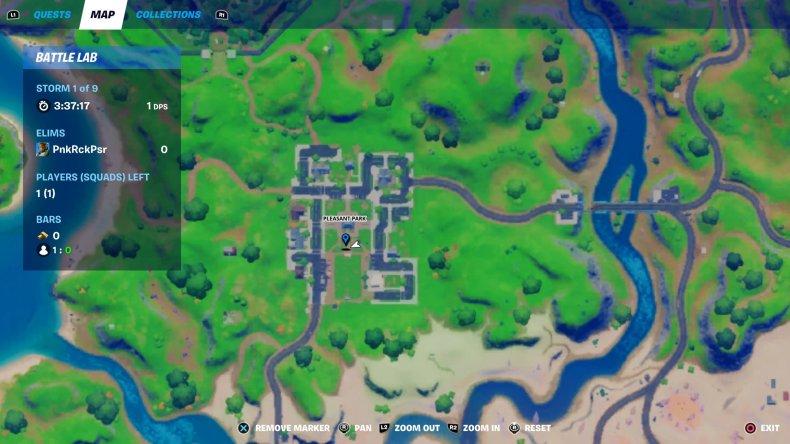 fortnite gnome bury 1 map