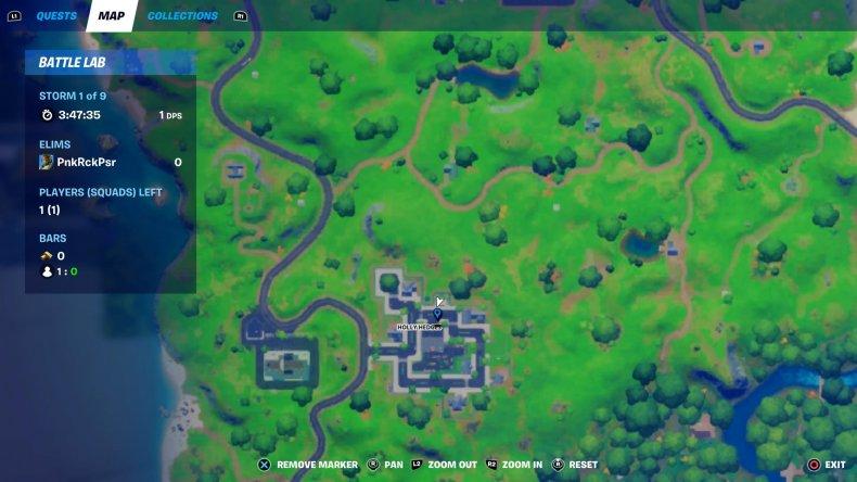 fortnite gnome collect 3 map