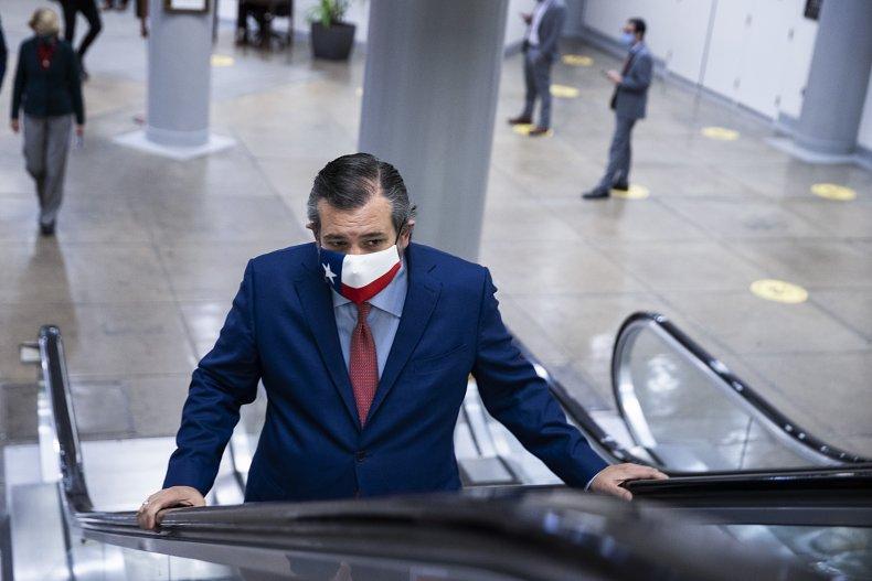 Ted Cruz Senate Vote