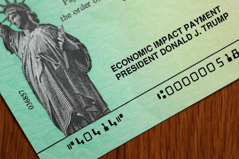 Stimulus Checks With President Trump's Name Sent
