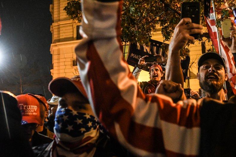 donald trump 2020 protests