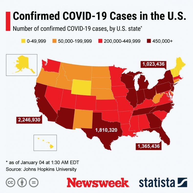 COVID-19 spread in U.S.