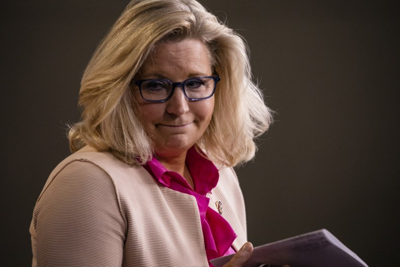 "Liz Cheney Calls Trump call ""deeply troubling"""