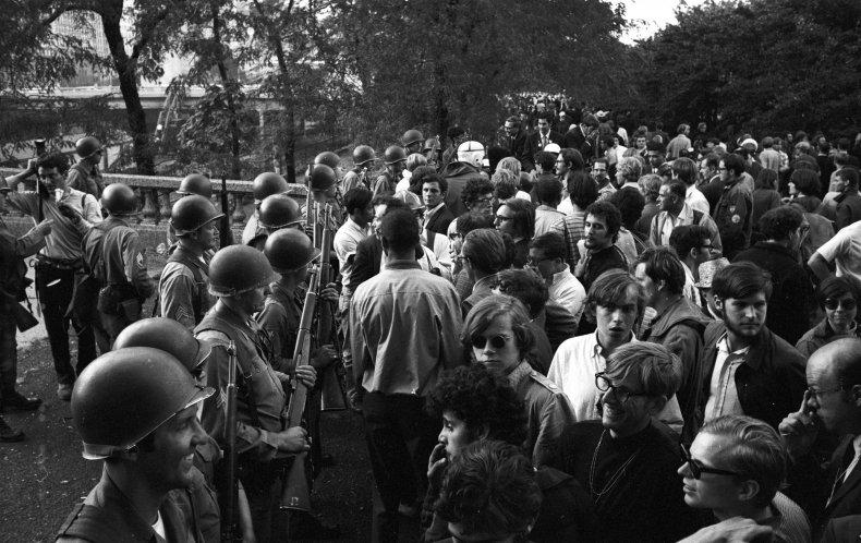 1968 Chicago protest