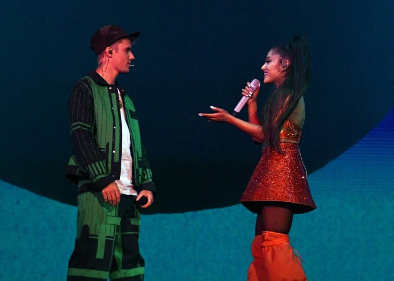 #80. 'Stuck with U' by Ariana Grande and Justin Bieber