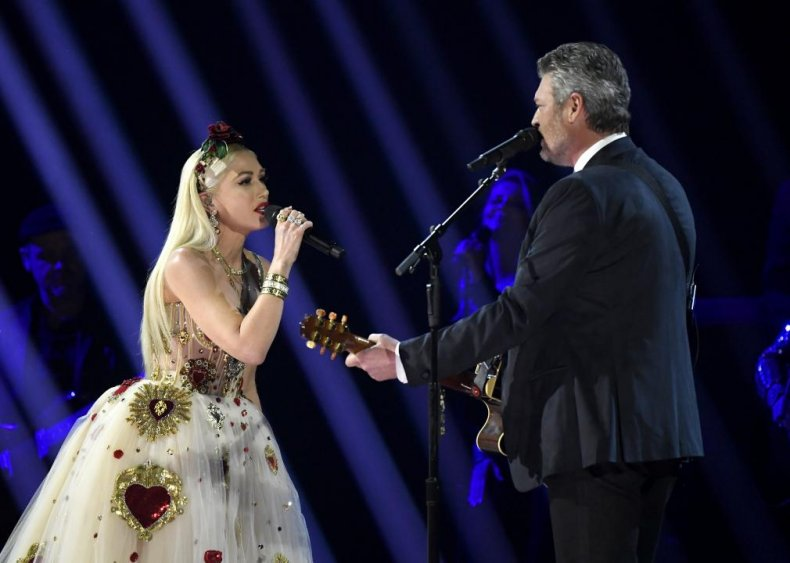 #52. 'Nobody But You' by Blake Shelton and Gwen Stefani
