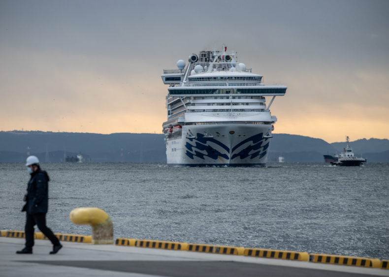 Feb. 5: Cruise ship quarantined off the coast of Japan