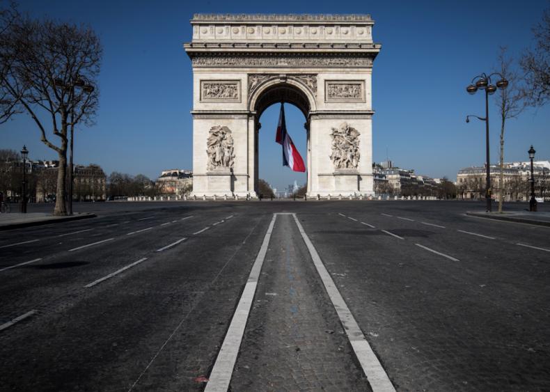 March 15: Europe shuts down