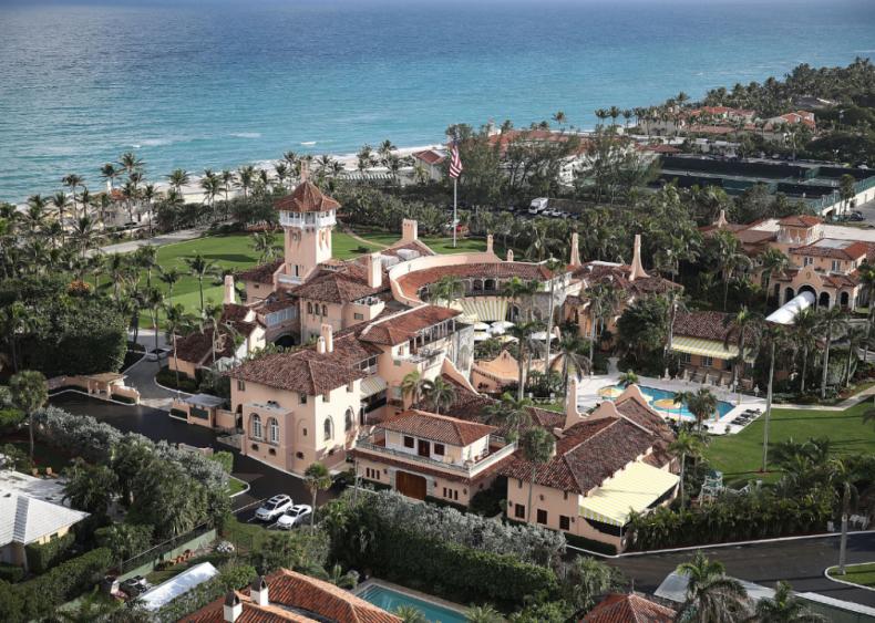 Trump vacations at Bedminster, Mar-a-Lago clubs