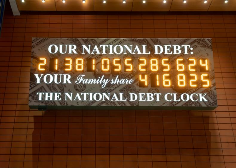 Budget deficit soars under Trump