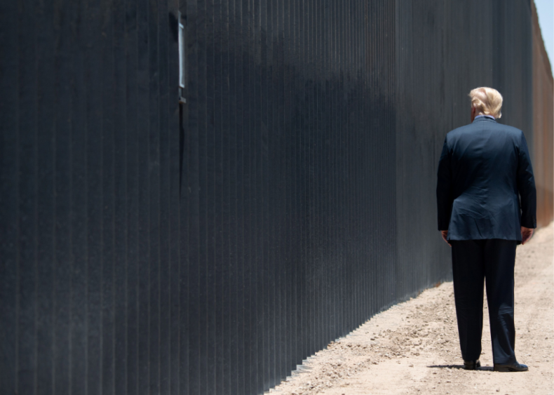 Mexico doesn't pay for a border wall