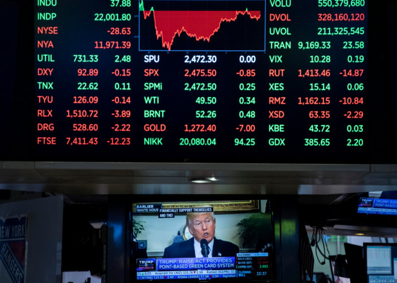 Trump falls short on economy's growth