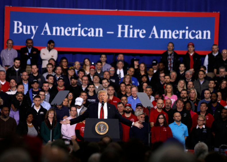 Trump gives preference to American workers