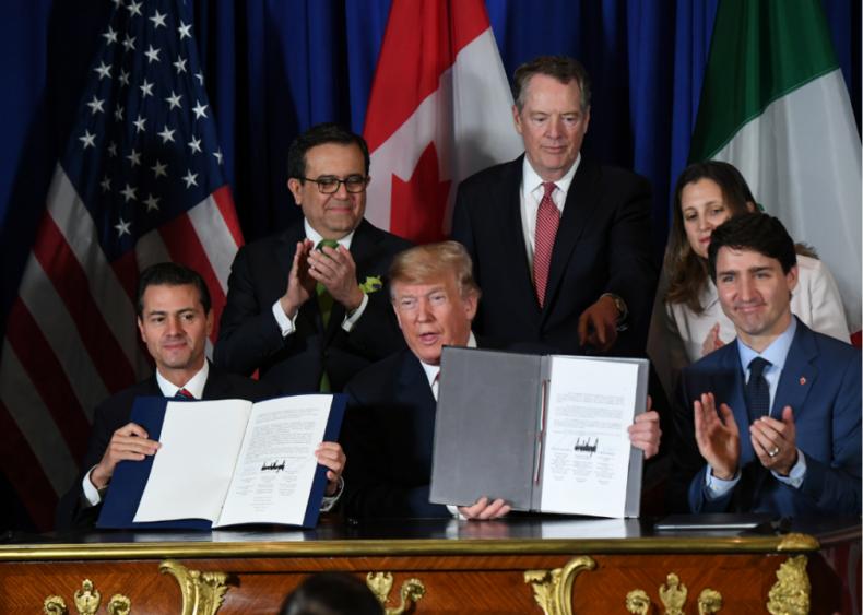 NAFTA Becomes USMCA