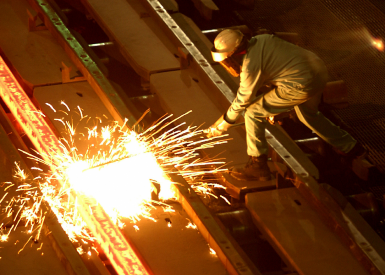 Infrastructure projects use U.S. steel
