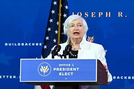 Yellen Biden Treasury Wall Street