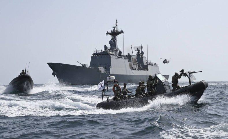south, korea, anti, piracy, navy