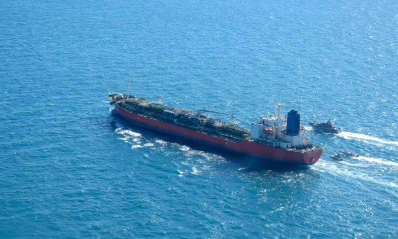 south, korea, tanker, iran, strait, hormuz