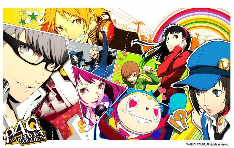 Persona 4 Golden wallpaper
