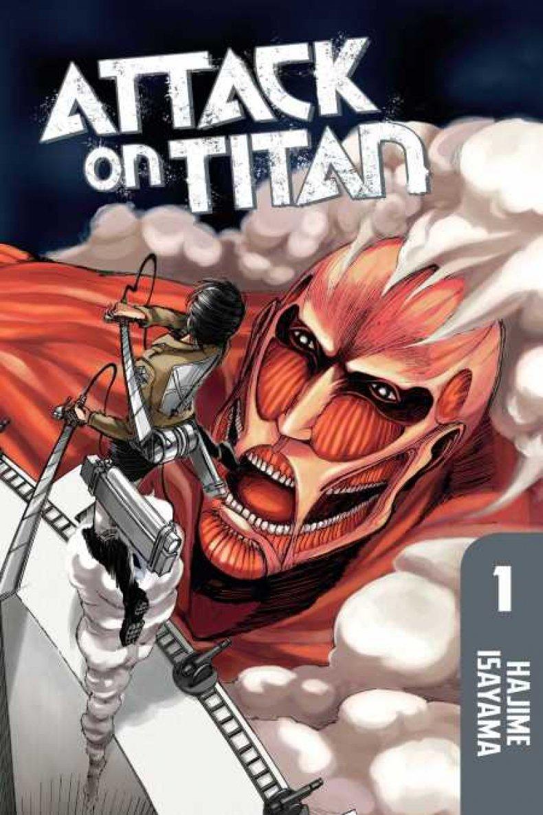 attack on titan manga volume 1 cover
