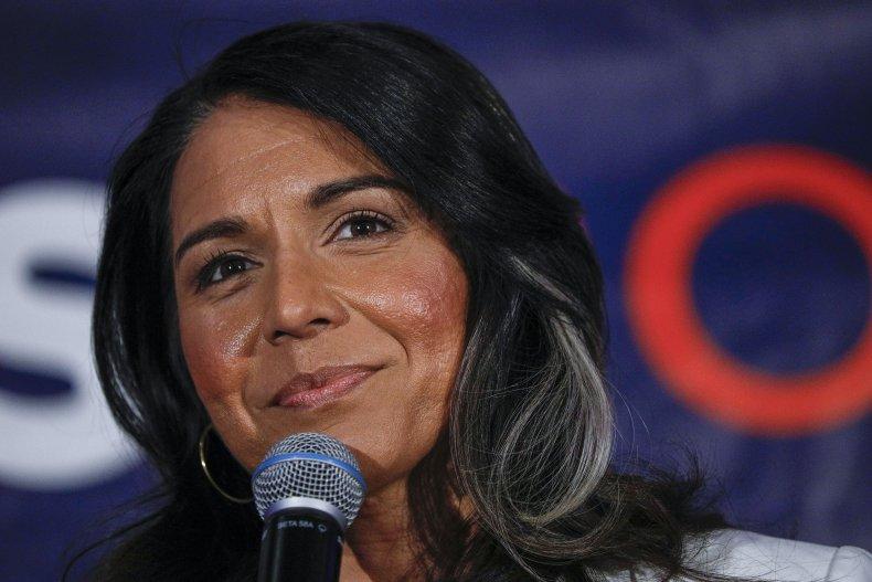 Democratic Presidential Candidate Tulsi Gabbard Holds Super