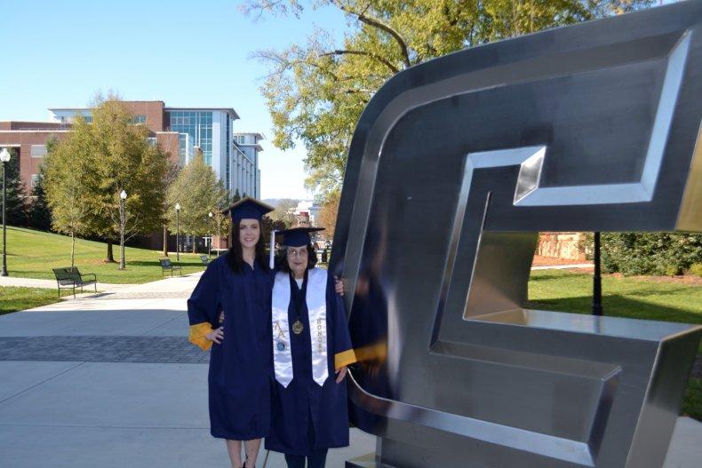 Graduation, studying, mature student