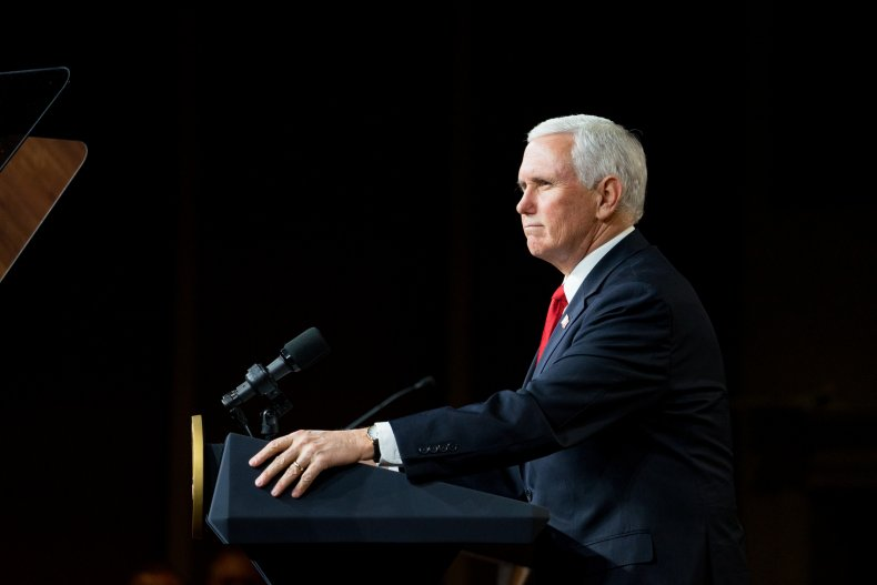 Vice President Mike Pence Campaigns In Georgia