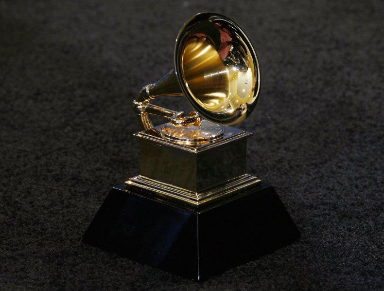 Grammy Award Trophy Postponed COVID