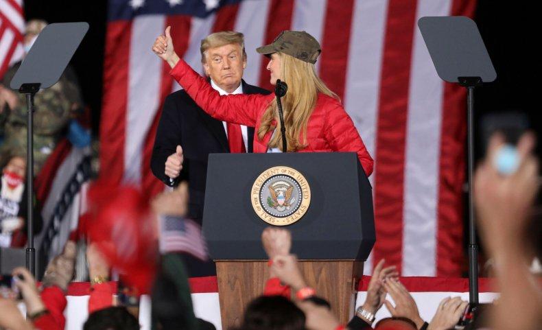 Donald Trump, Kelly Loeffler