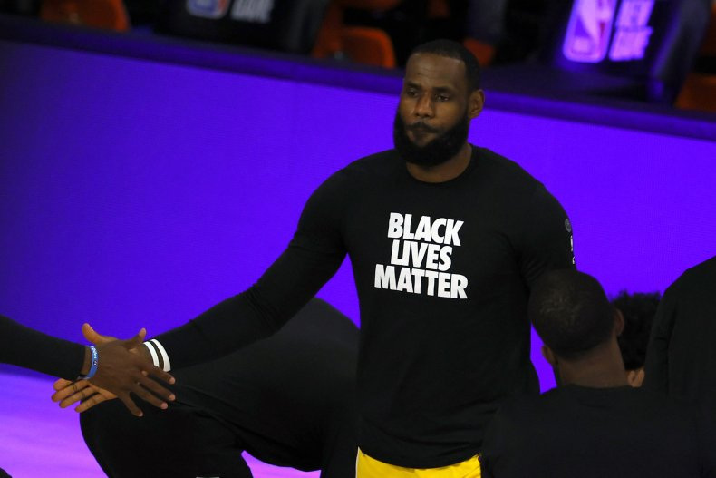 LeBron James BLM