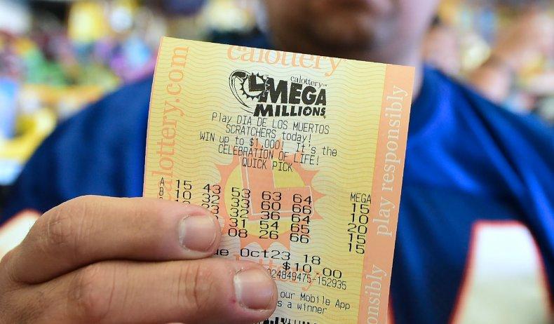 Mega Millions lottery ticket 2018