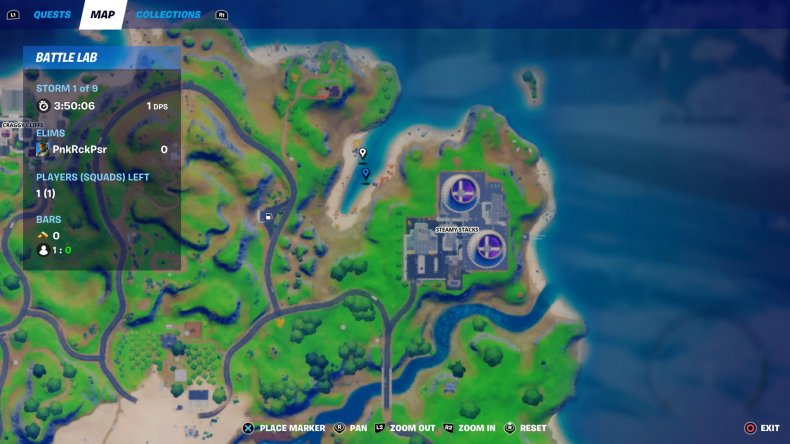 fortnite blow up fishing hole steamy stacks