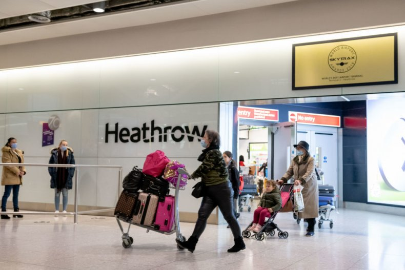 London Heathrow Airport during COVID-19