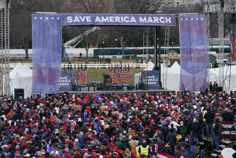 Washington DC Protest Save America MArch