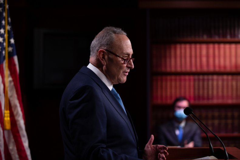 Chuck Schumer, Senate Minority Leader, Democrats