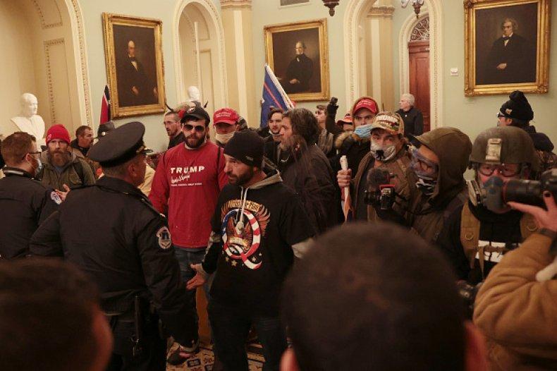 Trump Supporters Capitol