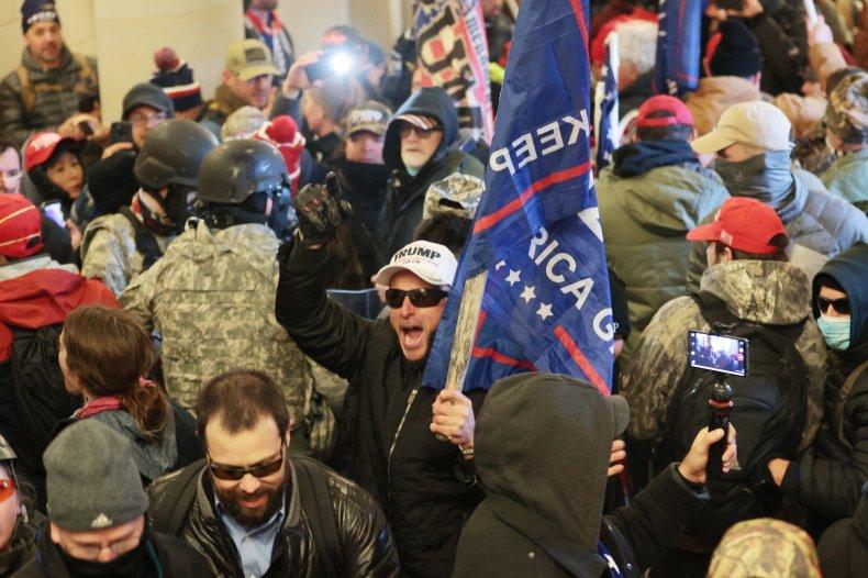 MAGA Trump Protesters Capitol